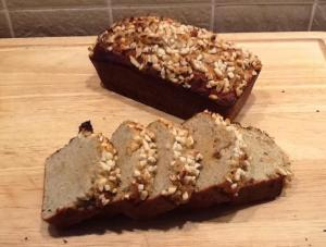 ginger, banana, date loaf
